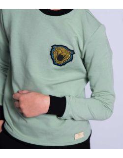 by royal baby dres dla chłopca bawełniany sportowy Green