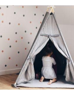 Malmo – tipi, namiot dla dzieci z matą podłogową