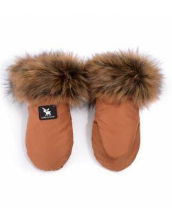 rękawice Handmuff Yukon bursztynowe