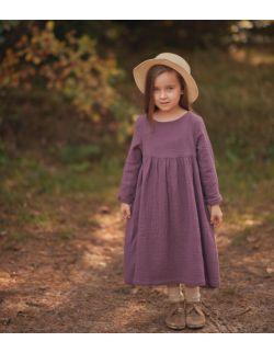 grape muślinowna sukienka