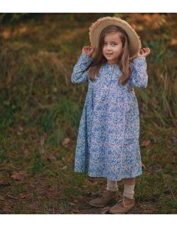 Bawełniana sukienka blue
