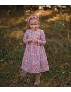 Bawełniana sukienka pink