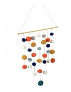 Wiszące pompony - dekoracja, Kikadu