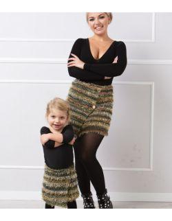 Asymetryczne spódniczki dla Mamy i Córki