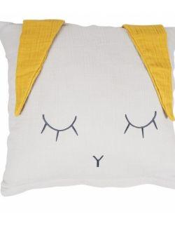Poszewka na poduszkę 40 x 40 cm, Królik, Kikadu, różne kolory