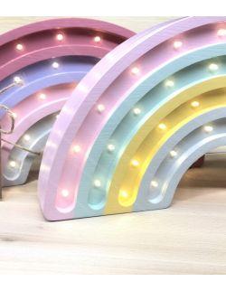 LAMPKA HAPPY RAINBOW PASTEL TĘCZA