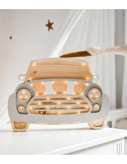 Lampka happy mini grey auto