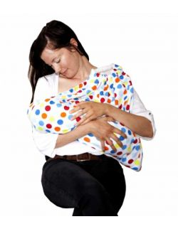 Snugglebundl Funky Spots osłona piersi