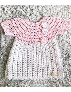 by royal baby edition Laguna elegancka sukienka do Chrztu Świętego dla dziewczynki handmade