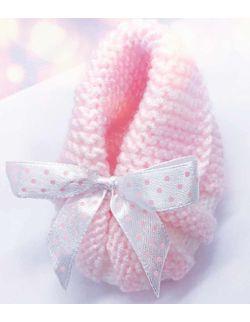 By Royal Baby wełniane buciki papcie niemowlęce do chrztu wyprawka prezent handmade