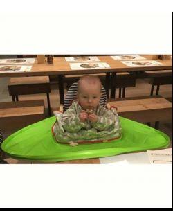 BLW Tidy Tot Kit Green- zestaw do nauki jedzenia metodą BLW