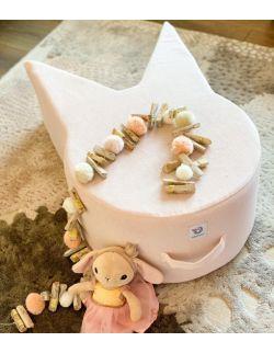 Pufa Kot - pink