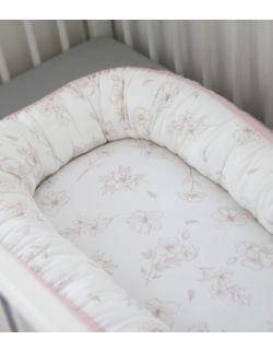 Kokon niemowlęcy Cottonwaffel Love & Rose