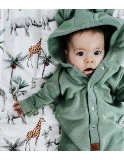 Pościel z wypełnieniem Safari (rozmiar M - newborn plus)