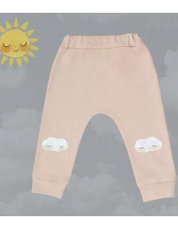spodnie z chmurkami