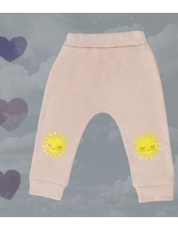 spodnie ze słoneczkami