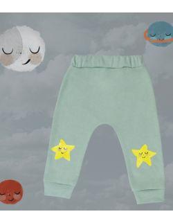 Spodnie z gwiazdkami
