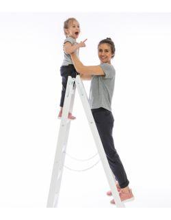 Spodnie dresowe Graphite Zestaw Mama i Córka