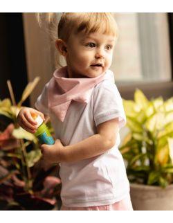 Biały t- shirt dla dziewczynki