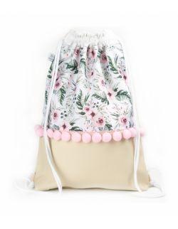 Plecak worek dla dorosłych Ogród jasny