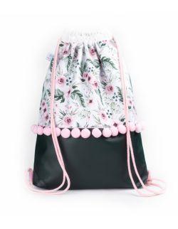 Plecak worek dla dorosłych Ogród