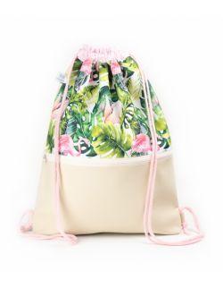 Plecak worek dla dorosłych Flaming