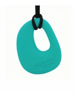 Wisiorek silikonowy gryzak Kamyk Jellystone Designs, różne kolory