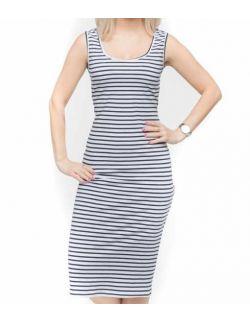 Sukienka ciążowa i do karmienia lena stripes
