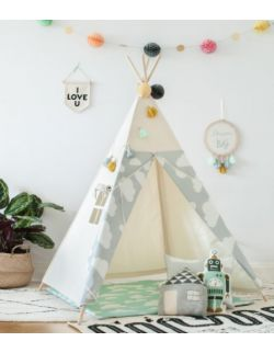 Namiot Tipi Chmurki Grey