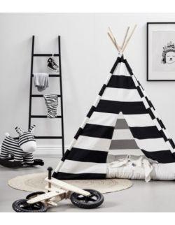 Namiot Tipi Czarno-Biały