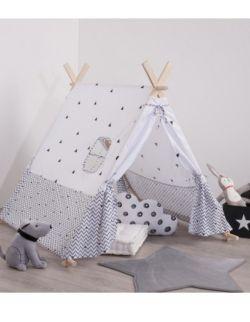 Namiot Dla Dzieci - Drewniana Konstrukcja, 110 X 107 X 106 Cm