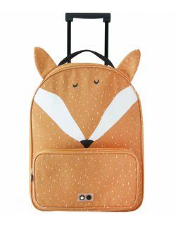 Podróżna walizka na kółkach Mr. Fox