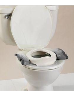 2w1 Potette Plus: Nocnik dla dziecka i nakładka na toaletę, biało-szary, Potette Plus