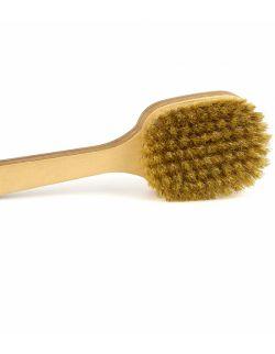 Szczotka do ciała na rączce - naturalna szczecina