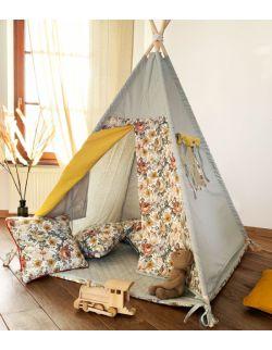 Meadow – tipi, namiot dla dzieci z matą podłogową