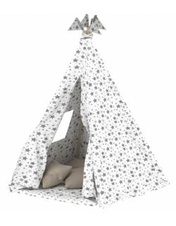 Namiot tipi dla dzieci biały + stabilizator