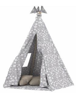 Namiot tipi dla dzieci szary + stabilizator