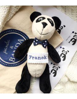 personalizowana panda z imieniem dziecka