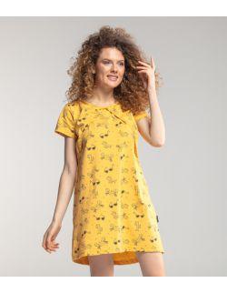 Koszula do karmienia LATO żółte