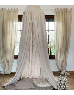 Muślin Sepia - baldachim do pokoju dziecka
