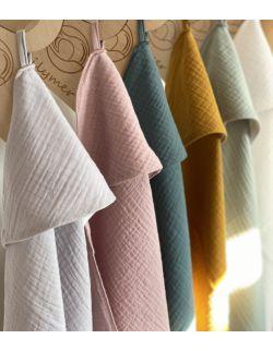 Ręcznik muślinowy - szary