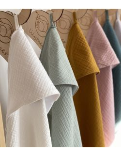 Ręcznik muślinowy - biały