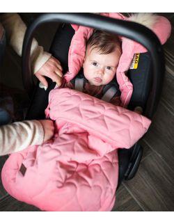 Śpiworek niemowlęcy Dream Catcher Hearts Strawberry 6in1 80x45 cm