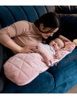 Śpiworek niemowlęcy Dream Catcher Triangles Pink 6in1 80x45 cm