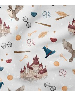 Worek na pościel do przedszkola Harry Potter