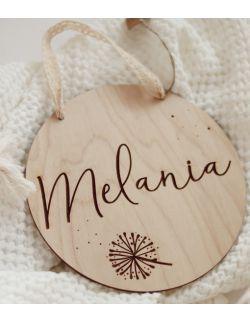 Drewniana Plakietka z Imieniem