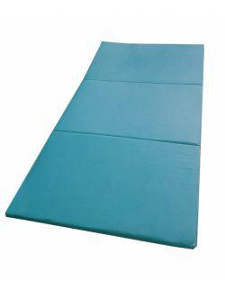Materac gimnastyczny welurowy 180x100x5 turkusowy
