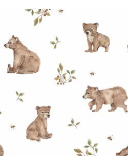 Woreczek na pampersy bieliznę drobiazgi Niedźwiadki
