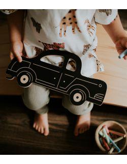 Retro samochód - tablica kredowa