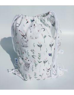 Worek dla przedszkolaka- plecak Bunnies